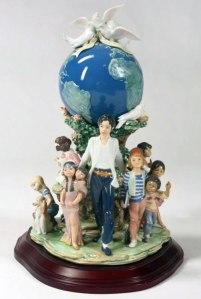 Michael Jackson Lladro Figurine