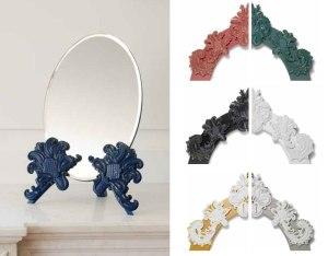 Lladro Rococo Mirror