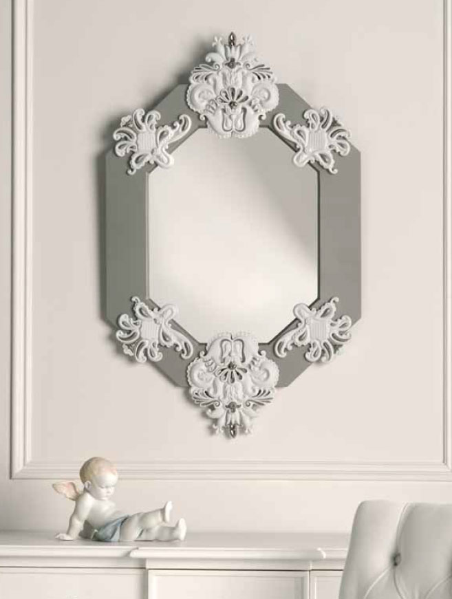 Mrror Mirror On The Wall Who S The Fairest Mirror Of Them All The Lladro Porcelain Figurines
